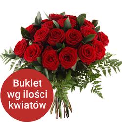 Bukiet 16 róż